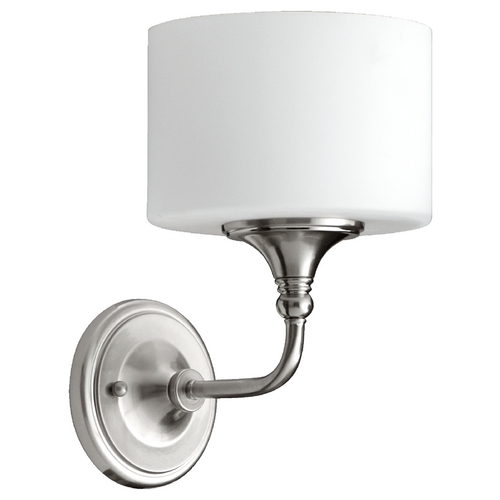 Quorum Lighting Quorum Lighting Rockwood Satin Nickel Sconce 5490-1-65
