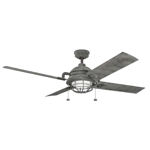 Kichler Lighting Kichler Lighting Maor LED Ceiling Fan with Light 310136WZC
