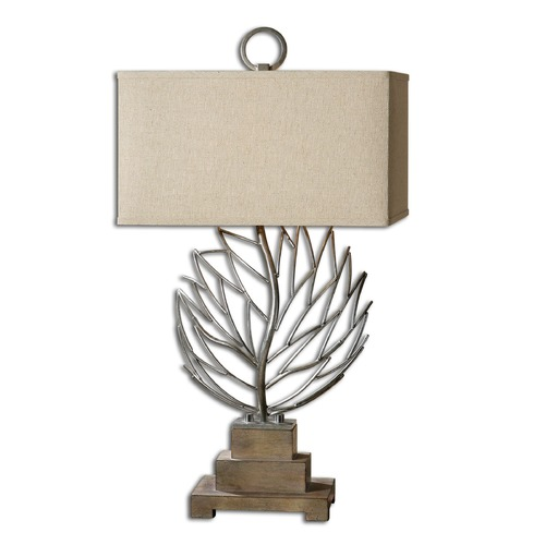 Uttermost Lighting Uttermost Argento Metal Branches Table Lamp 27695-1
