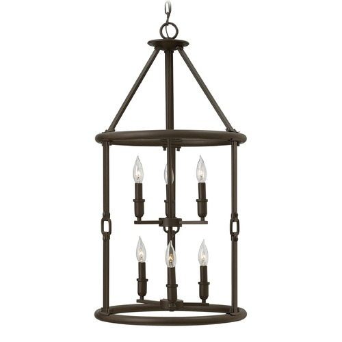 Hinkley Lighting Hinkley Lighting Dakota Oil Rubbed Bronze Pendant Light 4784OZ
