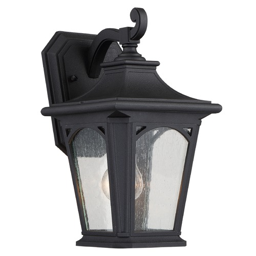 Quoizel Lighting Quoizel Bedford Mystic Black Outdoor Wall Light BFD8407K