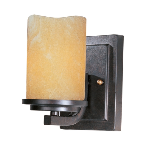 Maxim Lighting Maxim Lighting Luminous Rustic Ebony Sconce 21141SCRE