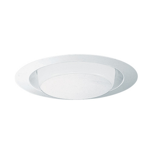Juno Lighting Group Opal Shower Trim for 6-Inch Recessed Housings 241-PW