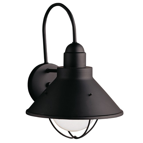 Kichler Lighting Kichler Outdoor Wall Light in Black Finish 9023BK