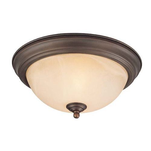 Craftmade Lighting Craftmade Oiled Bronze Flushmount Light 20011-OB