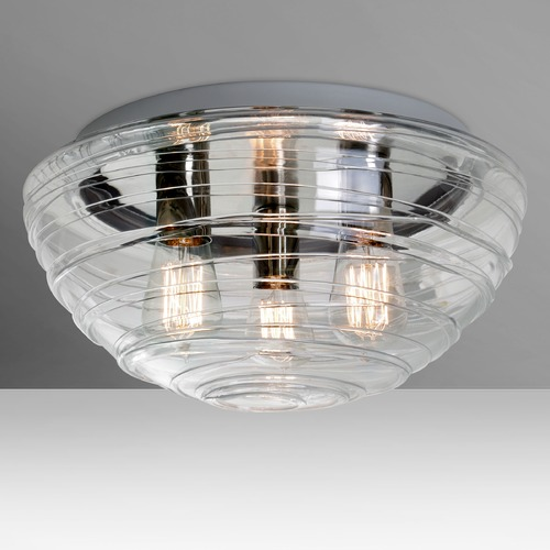 Besa Lighting Besa Lighting Wave Flushmount Light 906361C-EDI