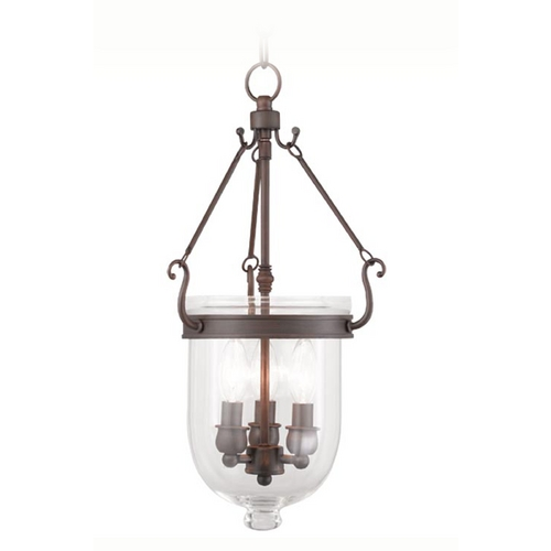 Livex Lighting Livex Lighting Jefferson Imperial Bronze Pendant Light 5063-58