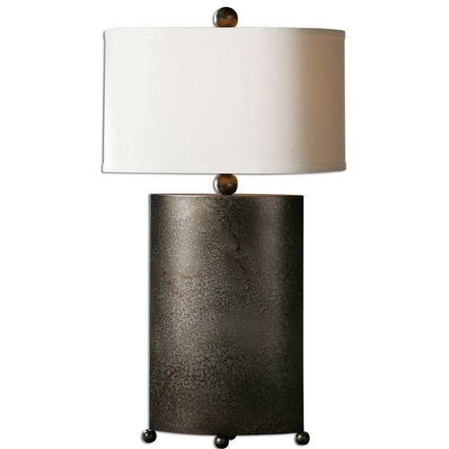 Uttermost Lighting Uttermost Ruggine Rust Silver Table Lamp 27696-1