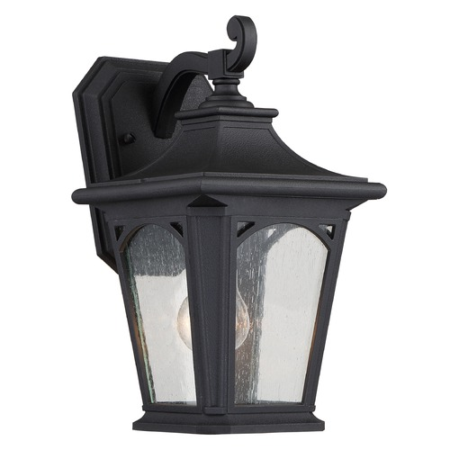 Quoizel Lighting Quoizel Bedford Mystic Black Outdoor Wall Light BFD8407KFL