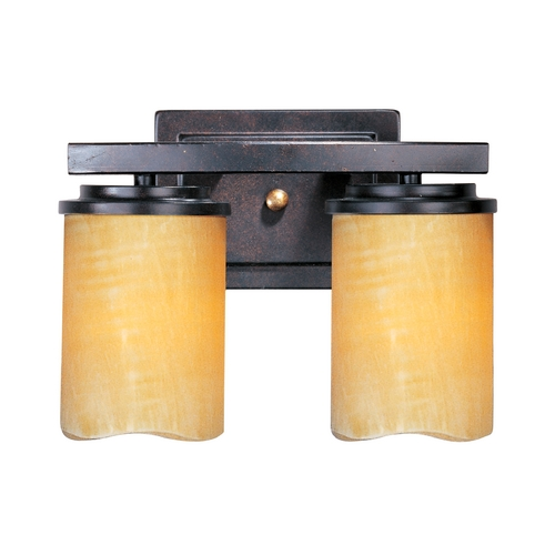 Maxim Lighting Maxim Lighting Luminous Rustic Ebony Bathroom Light 21142SCRE
