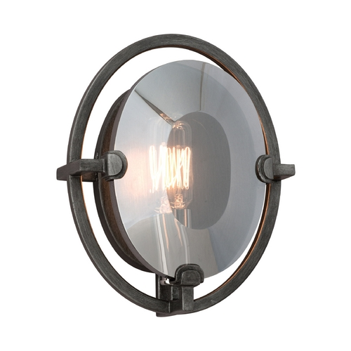 Troy Lighting Sconce Wall Light in Graphite Finish B2821
