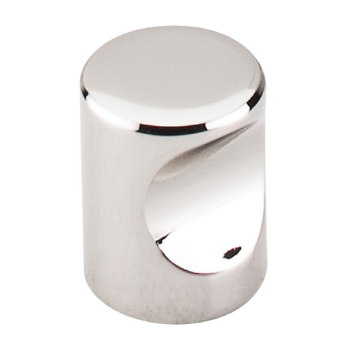 Top Knobs Hardware Modern Cabinet Knob in Polished Nickel Finish M1600