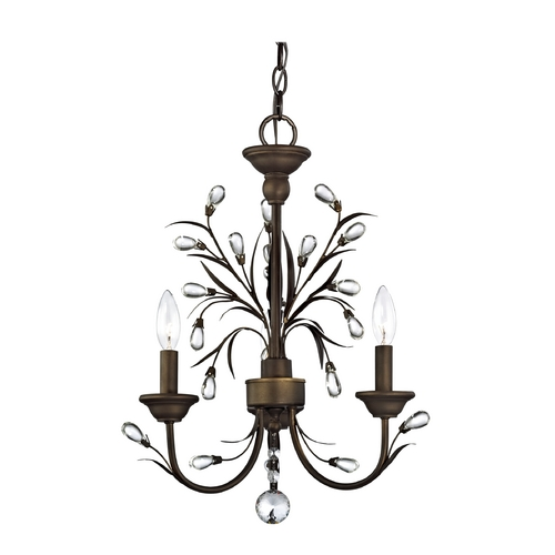 Ashford Classics Lighting Crystal Mini-Chandelier with Three Lights  9030-206