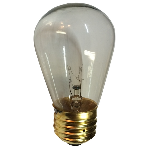 Design Classics Lighting 11-Watt Clear S14 Light Bulb 11S14CL