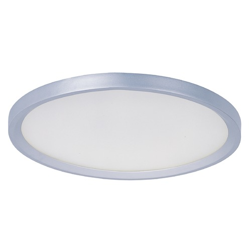 ET2 Lighting Moonbeam Metallic Silver LED Flushmount Light E22441-11MS