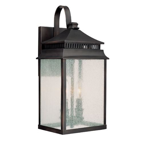 Capital Lighting Capital Lighting Sutter Creek Old Bronze Outdoor Wall Light 9112OB