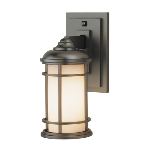 Feiss Lighting Feiss Lighting Lighthouse Burnished Bronze LED Outdoor Wall Light OL2200BB-LED