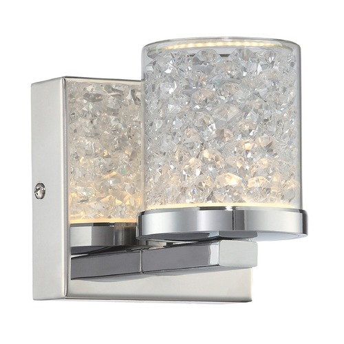 Lite Source Lighting Lite Source Chrome LED Sconce LS-16581