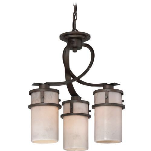 Quoizel Lighting Quoizel Lighting Kyle Iron Gate Mini-Chandelier KY5503IN