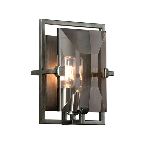 Troy Lighting Sconce Wall Light in Graphite Finish B2822