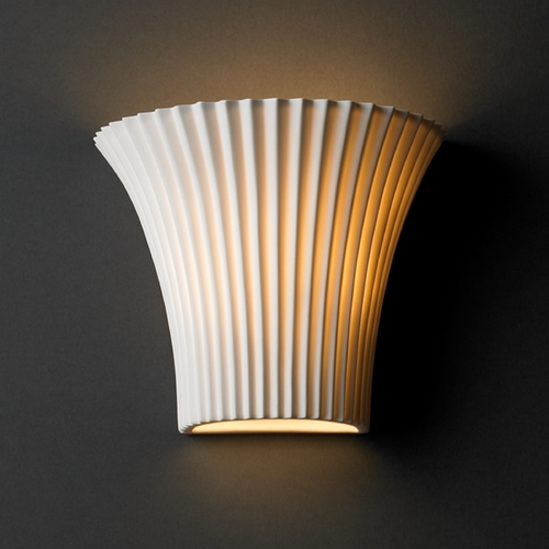 Justice Design Group Justice Design Group Limoges Collection Sconce POR-8810-PLET