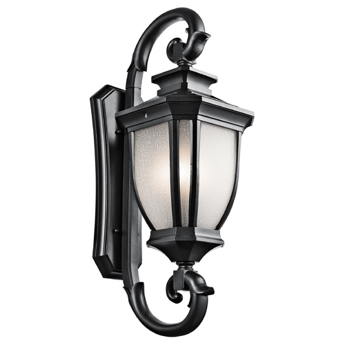 Kichler Lighting Kichler Lighting Salisbury Black (painted) Outdoor Wall Light 9099BK