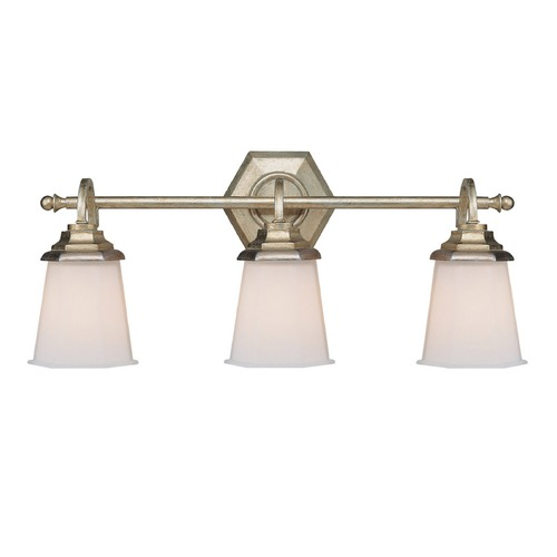 Capital Lighting Capital Lighting Fifth Avenue Winter Gold Bathroom Light 1068WG-101