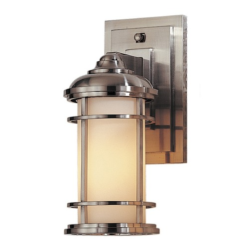 Feiss Lighting Feiss Lighting Lighthouse Brushed Steel LED Outdoor Wall Light OL2200BS-LED