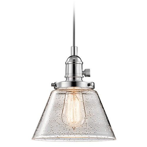Kichler Lighting Kichler Lighting Avery Mini-Pendant Light with Coolie Shade 43851CH