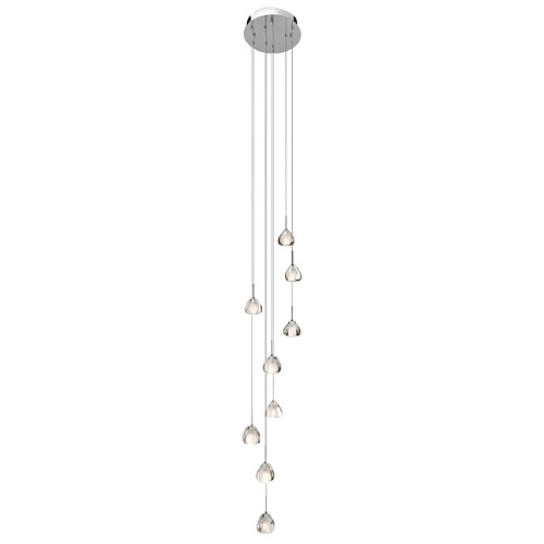 Elan Lighting Elan Lighting Eisa Chrome Multi-Light Pendant 83048