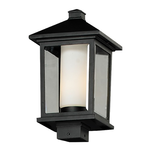 Z-Lite Z-Lite Mesa Black Post Light 538PHB-BK