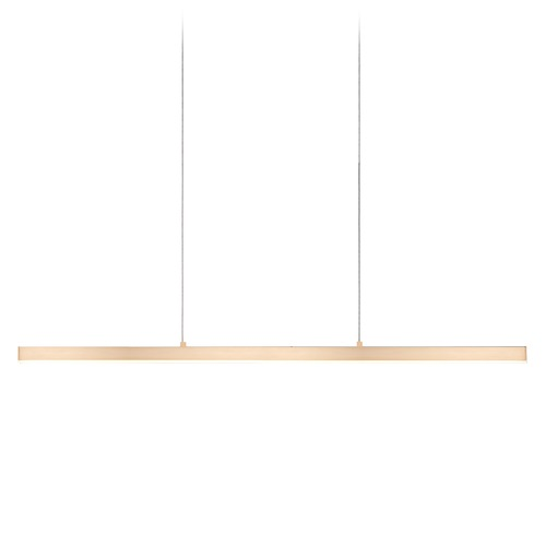 Kuzco Lighting Modern Gold LED Pendant with Frosted Shade 3000K 1609LM LP10345-GD