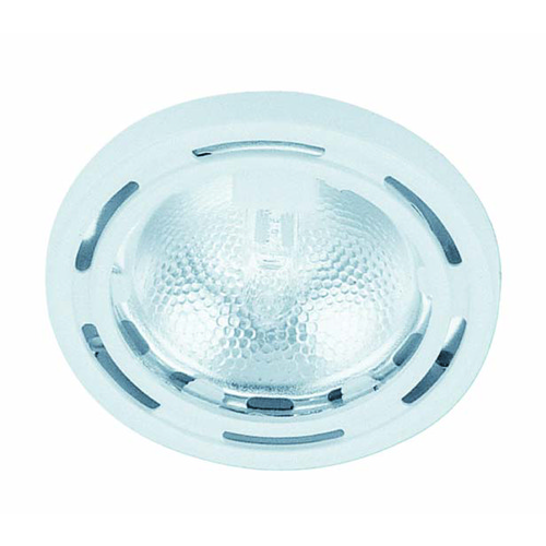 Lite Source Lighting 120V Halogen Puck Light Recessed White by Lite Source Lighting LS-1202WHT