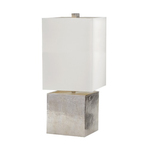 Dimond Lighting Dimond Lighting Nickel Table Lamp with Rectangle Shade 178-030
