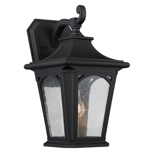Quoizel Lighting Quoizel Bedford Mystic Black Outdoor Wall Light BFD8408K
