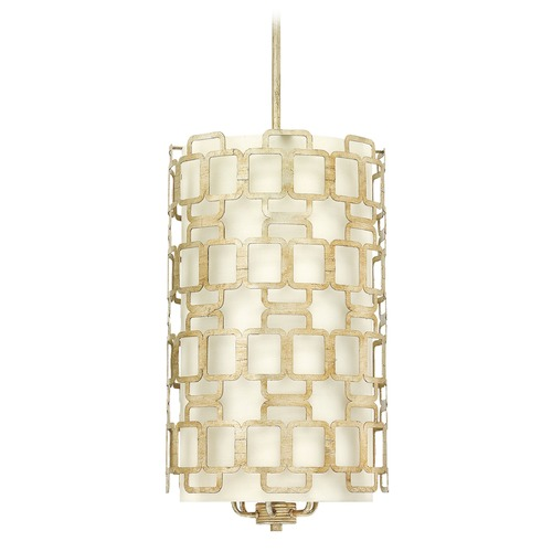 Hinkley Lighting Hinkley Lighting Sabina Silver Leaf Chandelier 4916SL