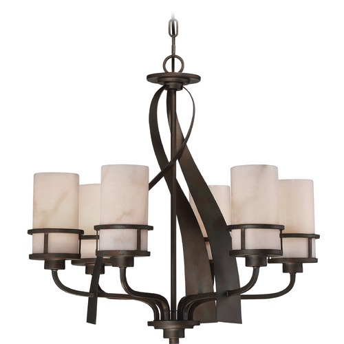 Quoizel Lighting Quoizel Lighting Kyle Iron Gate Chandelier KY5506IN