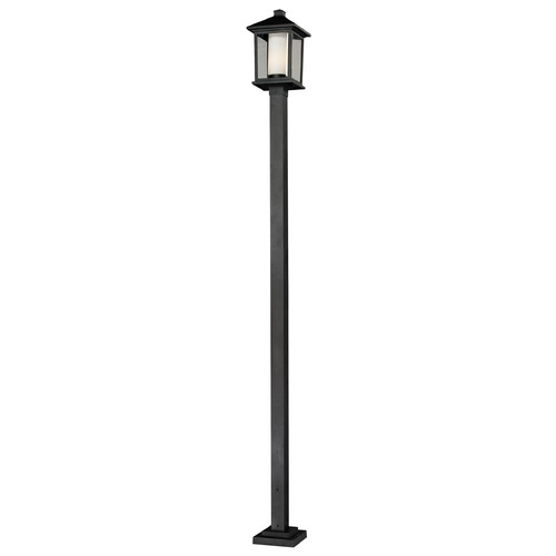 Z-Lite Z-Lite Mesa Black Post Light 538PHB-536P-BK