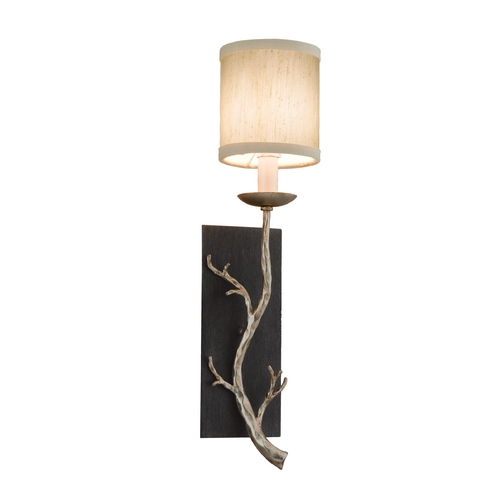 Troy Lighting Sconce Wall Light in Graphite and Silver Finish B2841