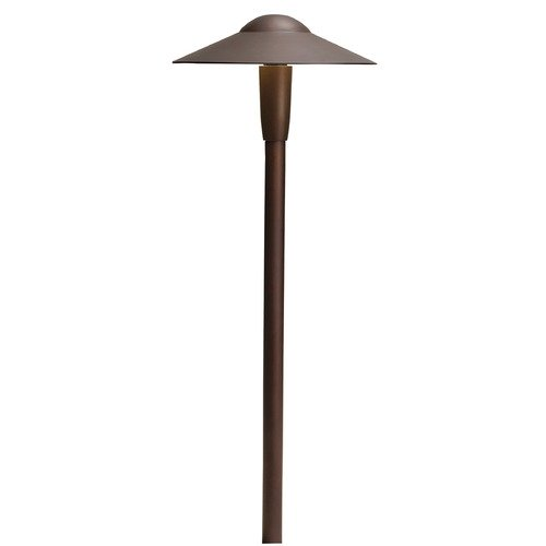 Kichler Lighting Kichler Lighting Textured Architectural Bronze LED Path Light 15810AZT27R