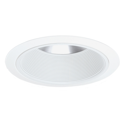 Juno Lighting Group White Conical Economy Trim for 6-Inch Recessed Housing 244S WWH