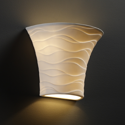 Justice Design Group Justice Design Group Limoges Collection Sconce POR-8810-WAVE