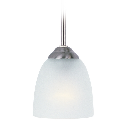 Maxim Lighting Maxim Lighting Stefan Satin Nickel Mini-Pendant Light 92061FTSN