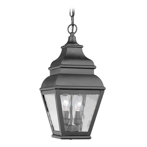 Livex Lighting Livex Lighting Exeter Black Outdoor Hanging Light 2604-04