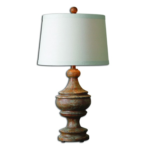 Uttermost Lighting Uttermost Via Lata Solid Wood Table Lamp 27742