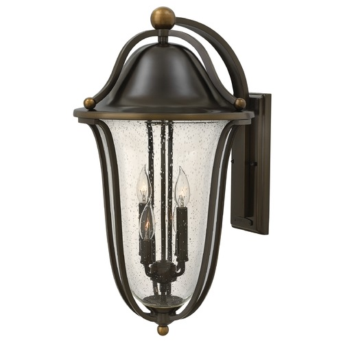 Hinkley Lighting Hinkley Lighting Bolla Olde Bronze Outdoor Wall Light 2649OB