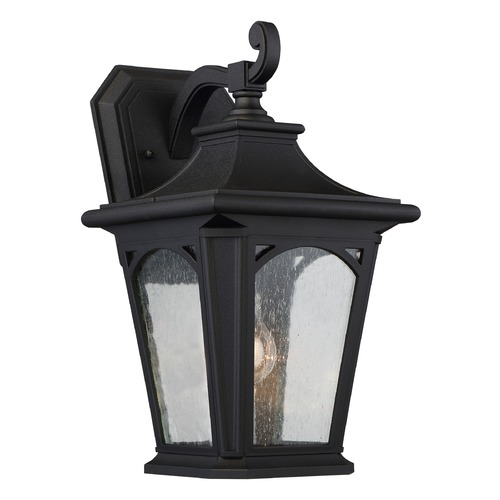 Quoizel Lighting Quoizel Bedford Mystic Black Outdoor Wall Light BFD8408KFL