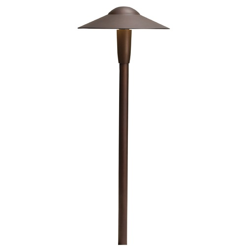 Kichler Lighting Kichler Lighting Textured Architectural Bronze LED Path Light 15810AZT30R