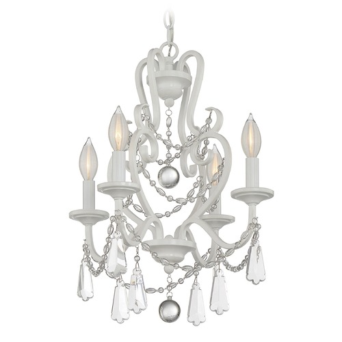 Savoy House Savoy House Lighting Mini Chandelier Matte White Mini-Chandelier 1-872-4-80
