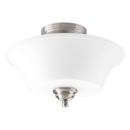 Progress Lighting Progress Lighting Applause Brushed Nickel Flushmount Light P3617-09